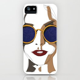 View of Fashion iPhone Case