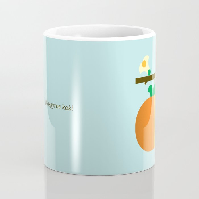 Fruit: Persimmon Coffee Mug