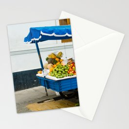 Fruit Cart in Peru-South America Street Photography Stationery Cards
