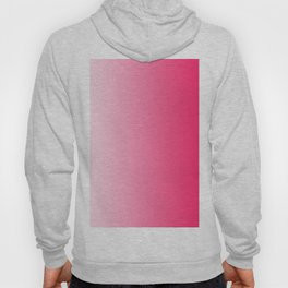 White and Warm Pink Gradient 046 Hoody