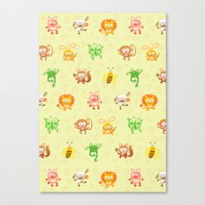 Baby animals Canvas Print