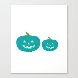 Teal Pumpkin Little Pumpkin Teal Pumpkin Project Canvas Print
