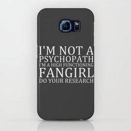 I'm Not A Psychopath... V3 iPhone Case
