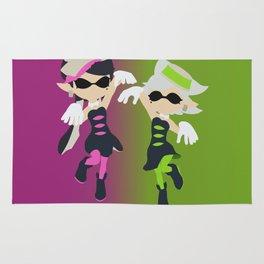 Callie & Marie - Splatoon Rug