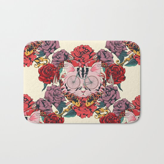 I Couldn't Be Your Friend Bath Mat