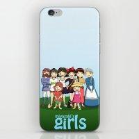 miyazaki iPhone & iPod Skins featuring Miyazaki Girl's by TubaTOPAL