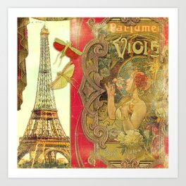 The Crickets of Paris Art Print