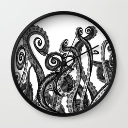 The Octopus World Wall Clock