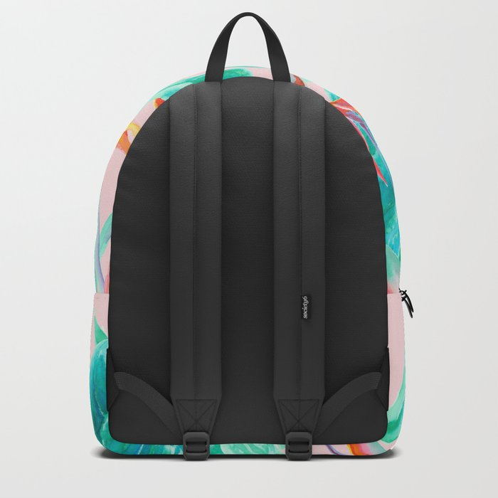 Birds of Paradise Blush Backpack