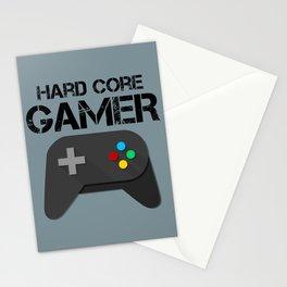 Game Console Black Joystick Stationery Cards