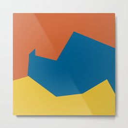 Minimalism Abstract Colors #14 Metal Print