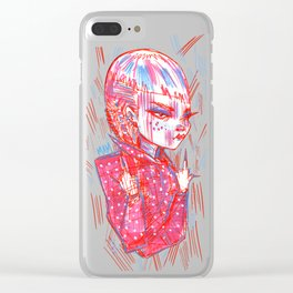 """""""Nails On FleeK"""" Clear iPhone Case"""