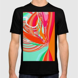 Re-Created  Sour Candy 5 by Robert S. Lee T-shirt