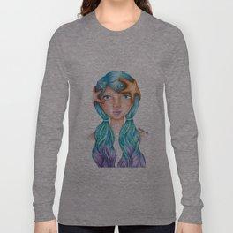 "Element Girls Drawing - ""Water""  Long Sleeve T-shirt"