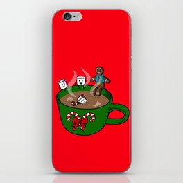 Relaxing Hot Cocoa iPhone Skin