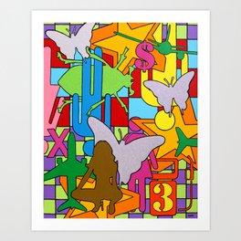 """""""High Octane"""" Art Print"""