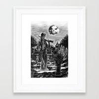 evil dead Framed Art Prints featuring Evil Dead by Marc Vuletich