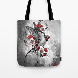 swallows and sakuras Tote Bag
