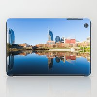 nashville iPad Cases featuring Nashville by GF Fine Art Photography