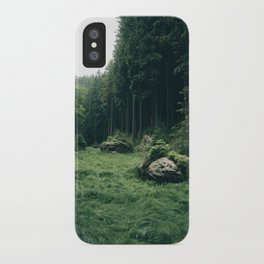 Forest Field - Landscape Photography iPhone Case