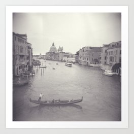 Love in Venezia Art Print