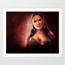 Die dunkle Gräfin Art Print