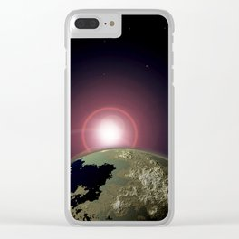 There's Hope Just over the Horizon Clear iPhone Case