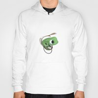 frog Hoodies featuring Frog by Flewn