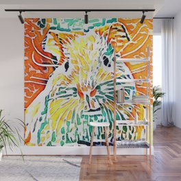 Hot painted Guinea Pig Wall Mural
