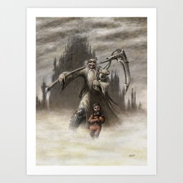 Father Time Art Print