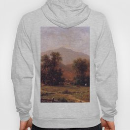 White Mountain Landscape Mount Washington 1871 By Martin Johnson Heade | Reproduction Hoody