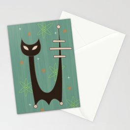 Atomic Cats Stationery Cards
