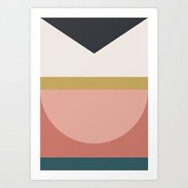Maximalist Geometric 03 Art Print