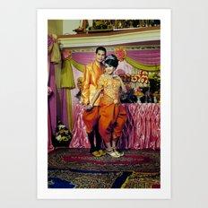 Cambodian Wedding n°4 Art Print