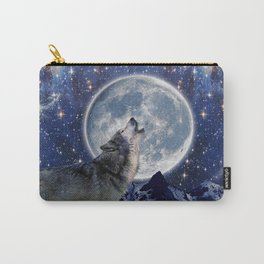 A One Wolf Moon Carry-All Pouch