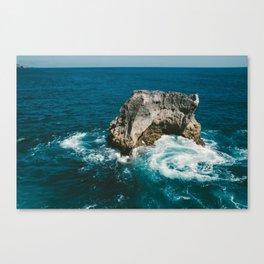 Whirlpool Rock Canvas Print