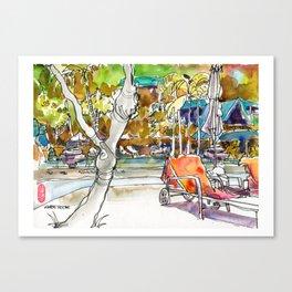 20170331 USKSG Centara Grand Krabi a few days of sun Canvas Print
