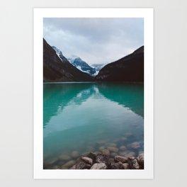 lake louise II Art Print