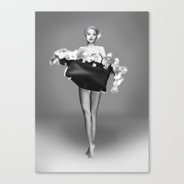 Tippy Toes Canvas Print