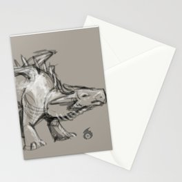 Dragon Sketch Stationery Cards