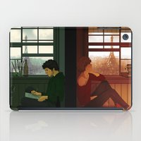 grantaire iPad Cases featuring Enjolras & Grantaire by rdjpwns