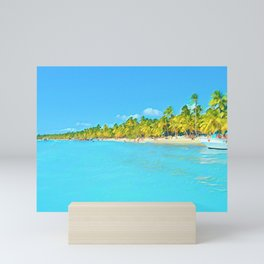 Saona Island Mini Art Print