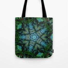 Lost in Moss Tote Bag
