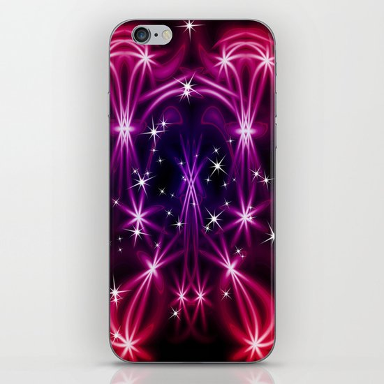 Abstract stars iPhone & iPod Skin
