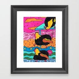 Chickens Framed Art Print