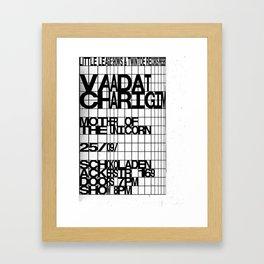 Vaadat Charigim Framed Art Print