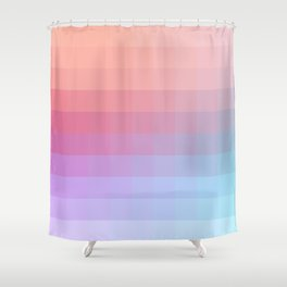 Lumen, Pink and Lilac Light Shower Curtain