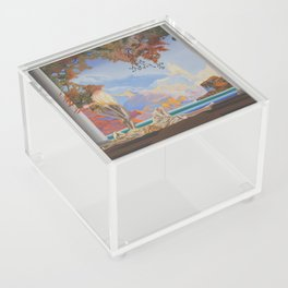 After Maxfield Parrish Acrylic Box