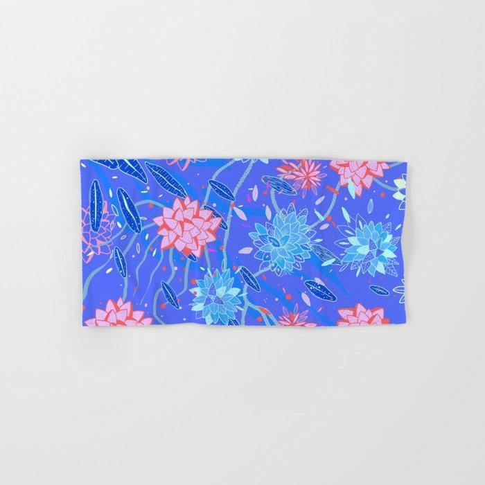 Heroinax Freaky Flowers Hand & Bath Towel