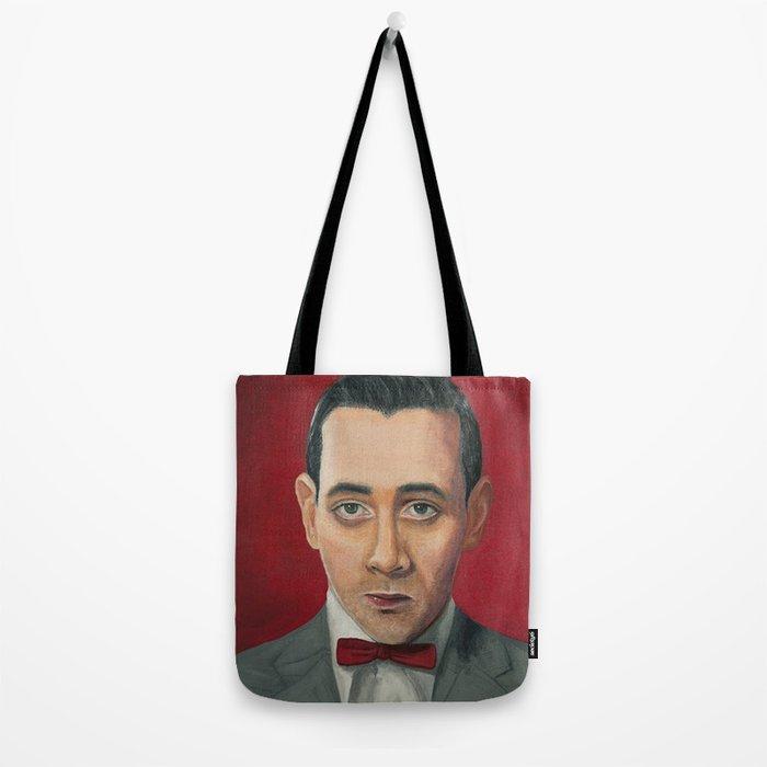 Pee-Wee Herman, A portrait Tote Bag
